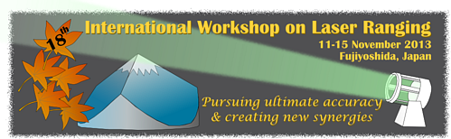 18th International Workshop on Laser Ranging